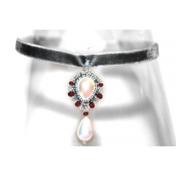 Collar de gotas de perlas