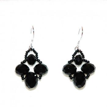Pendientes Glamour Negro