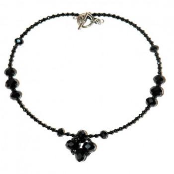 Collar glamour en negro