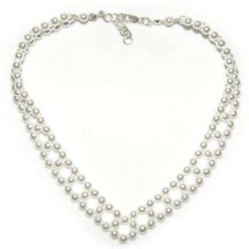 Cadena elegante de perlas