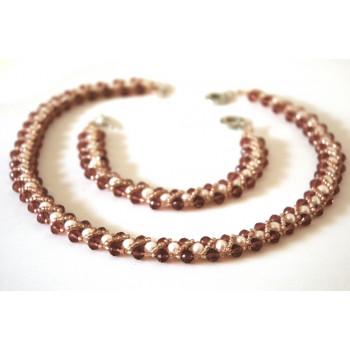 Conjunto de perlas decoradas