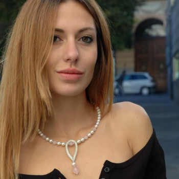 "Collar ""Amor puro"""