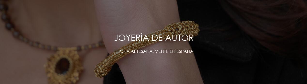 Joyería de autor realizada en España